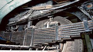 Ремонт, переборка и замена рессор грузовых автомобилей