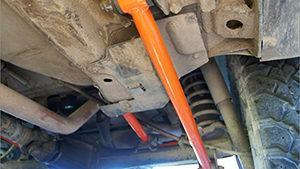 Ремонт и замена реактивных тяг грузовых автомобилей