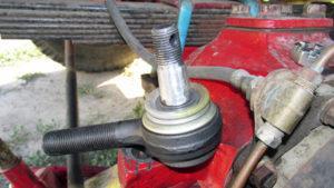 Ремонт и замена рулевых наконечников