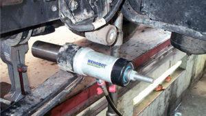 Замена сайлентблоков и втулок амортизаторов грузовых автомобилей